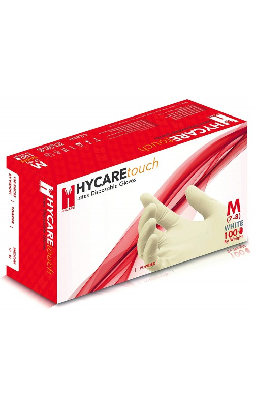 Hycare Latex kesztyű